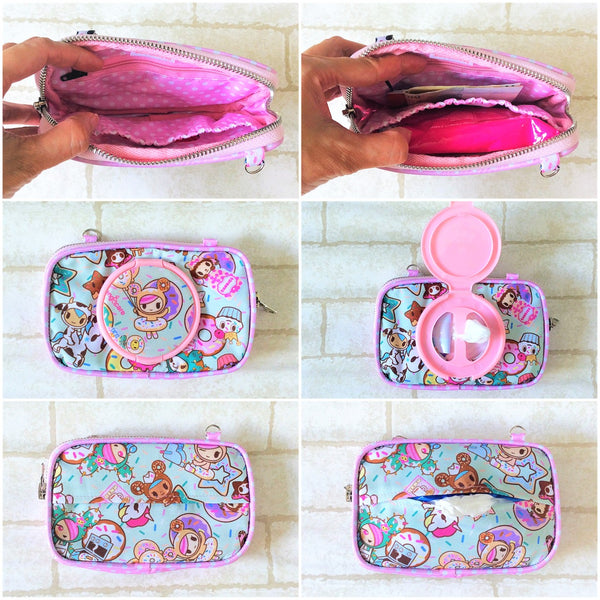 SLIM WET AND DRY Pocket Tissue Wallet Pouch | WET AND DRY Pocket Tissue Pouch | SLIM Pocket Wet and Dry TKDK Design 6B19