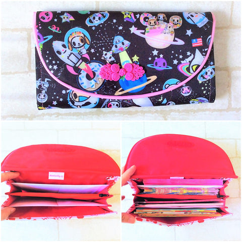FLAP Ang Bao Organizer |  Pouch for Red Packets | Flap Organiser 50 Red Packets | Flap TKDK Design 17B13