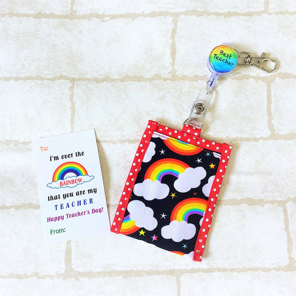 Card Holder with Retractable Clip | Ez Card Holder | Teacher's Day Card Holder with Retractable Clip | Card Holder Design 1B10
