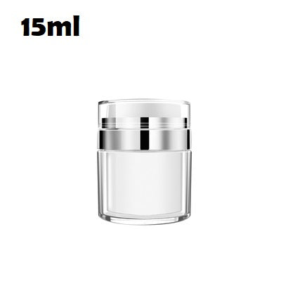 Airless Cream Jar | Acrylic Airless Cream Press Lotion Dispenser