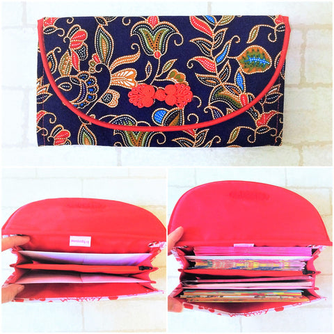 FLAP Ang Bao Organizer |  Pouch for Red Packets | Flap Organiser 50 Red Packets | Flap SIA Design 14B17