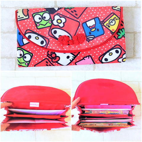 FLAP Ang Bao Organizer |  Pouch for Red Packets | Flap Organiser 50 Red Packets | Flap HK Design 18B05