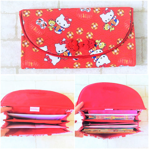 FLAP Ang Bao Organizer |  Pouch for Red Packets | Flap Organiser 50 Red Packets | Flap HK Design 18B06