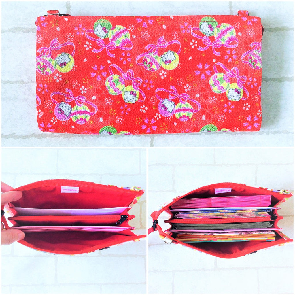 SLIM Red Packet Organizer | Ang Pow Organiser | Slim Organiser 70 Red Packets | Slim HK Design 18B11