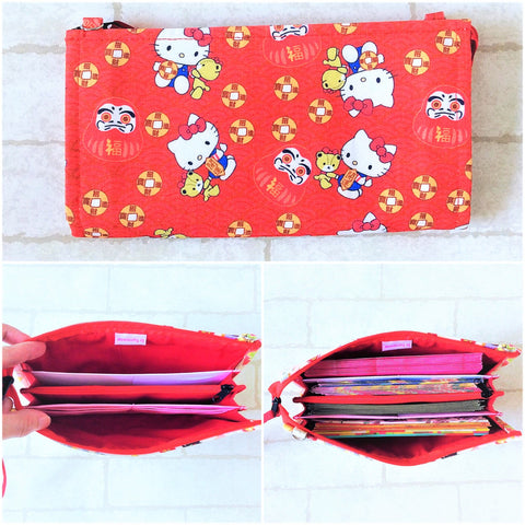 SLIM Red Packet Organizer | Ang Pow Organiser | Slim Organiser 70 Red Packets | Slim HK Design 18B13