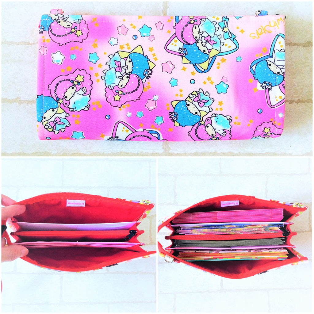 SLIM Red Packet Organizer | Ang Pow Organiser | Slim Organiser 70 Red Packets | Slim HK Design 18B14
