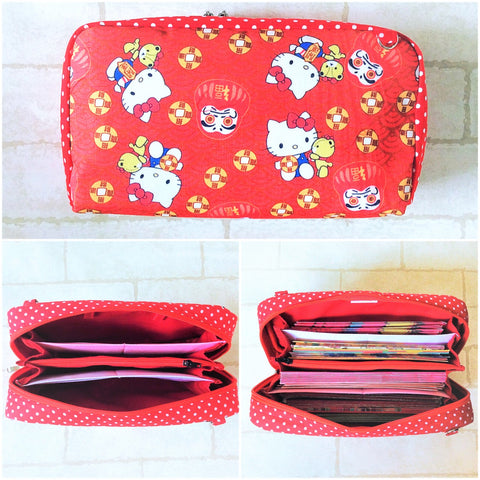 SPACIOUS Hong Bao Organizer | Ang Pao Wallet | Spacious Organizer 100 Red Packets | Spacious HK Design 18B18