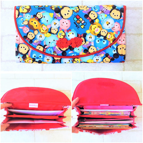 FLAP Ang Bao Organizer |  Pouch for Red Packets | Flap Organiser 50 Red Packets | Flap Tsum Design 14B19
