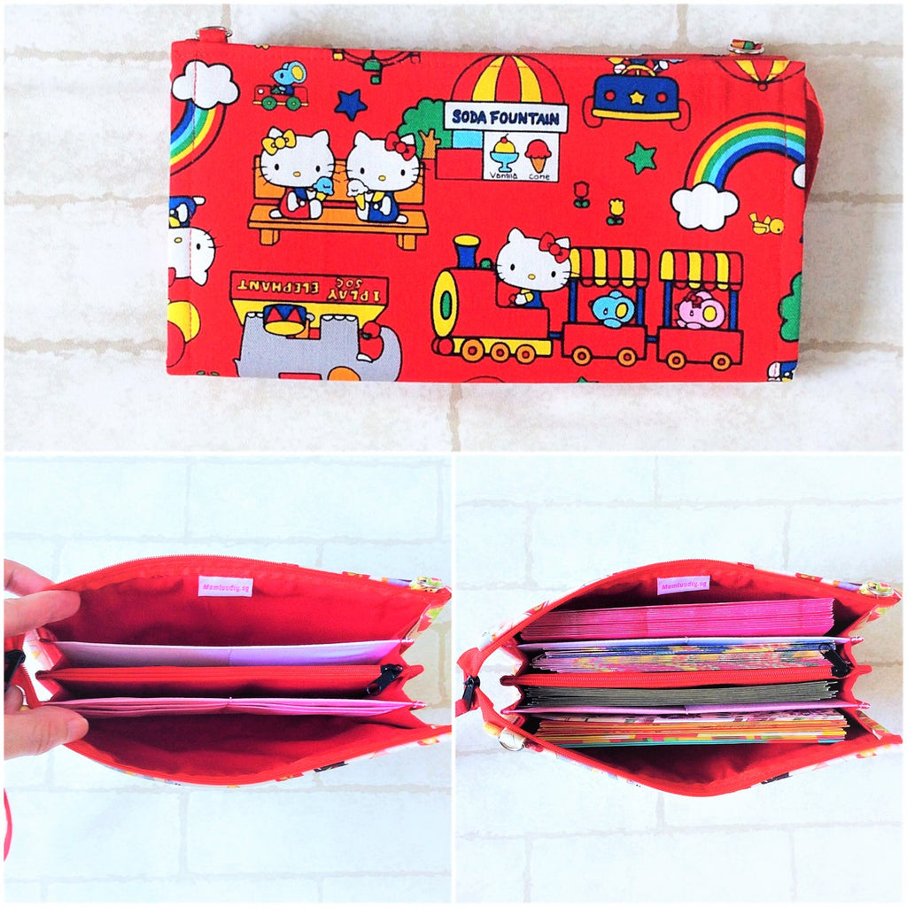 SLIM Red Packet Organizer | Ang Pow Organiser | Slim Organiser 70 Red Packets | Slim HK Design 21B14