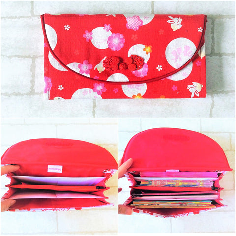 FLAP Ang Bao Organizer |  Pouch for Red Packets | Flap Organiser 50 Red Packets | CNY Design 21B18