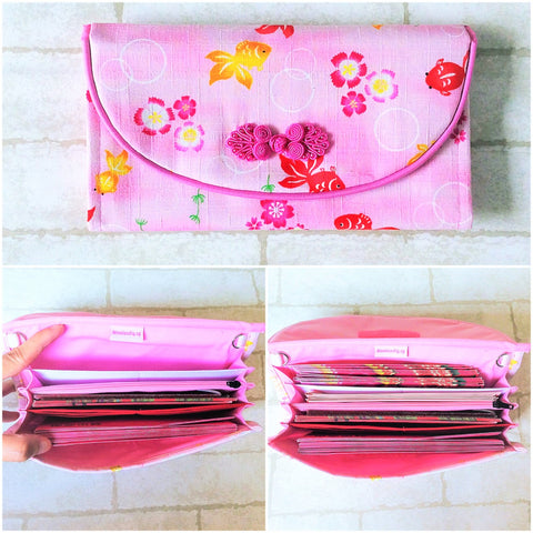 FLAP Ang Bao Organizer |  Pouch for Red Packets | Flap Organiser 50 Red Packets | CNY Design 21B19