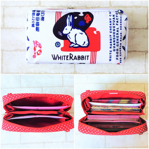 SPACIOUS Hong Bao Organizer | Ang Pao Wallet | Spacious Organizer 100 Red Packets | Spacious White Rabbit Design 21B36