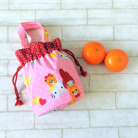 Mandarin Orange Carrier | Carrier for 4 Oranges | Chinese New Year Carrier | Orange Carrier Sanrio Design 21B38