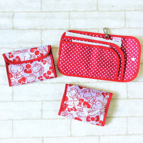 READY STOCK: SURGICAL MASK POUCH | 2 in 1 Surgical Mask Wallet cum Tissue Pouch | Design 2B05