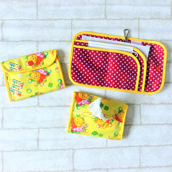 READY STOCK: SURGICAL MASK POUCH | 2 in 1 Surgical Mask Wallet cum Tissue Pouch | Design 2B16