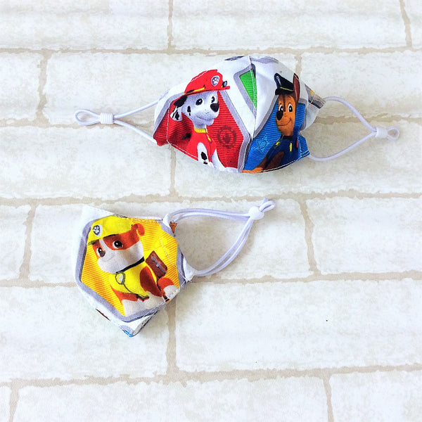 KIDS SIZE (Up to 6YO) : HANDMADE MASK READY STOCK | FREE 10 PIECES OF FILTER | Design 2B42