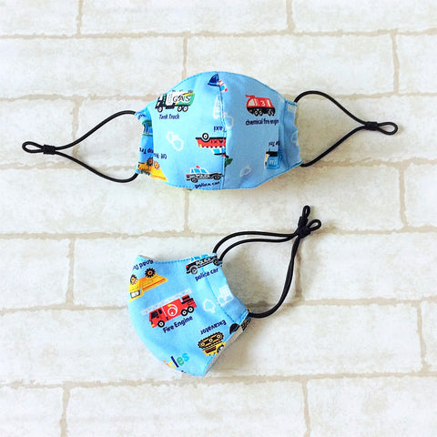 KIDS SIZE (Up to 6YO) : HANDMADE MASK READY STOCK | FREE 10 PIECES OF FILTER | Design 3B12