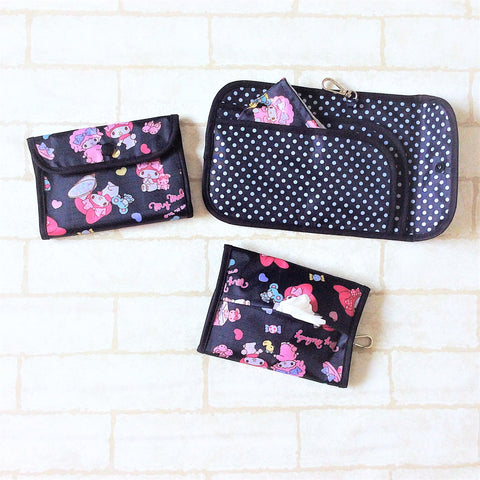 READY STOCK: SURGICAL MASK POUCH | 2 in 1 Surgical Mask Wallet cum Tissue Pouch | Design 4B20