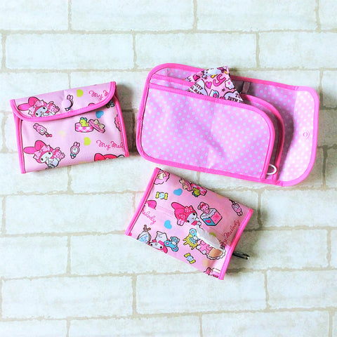 READY STOCK: SURGICAL MASK POUCH | 2 in 1 Surgical Mask Wallet cum Tissue Pouch | Design 4B21