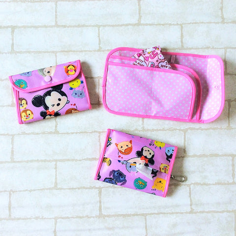 READY STOCK: SURGICAL MASK POUCH | 2 in 1 Surgical Mask Wallet cum Tissue Pouch | Design 4B26