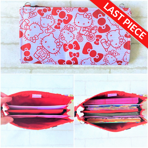 WATERPROOF SLIM Red Packet Organizer | Ang Pow Organiser | Slim Organiser 70 Red Packets | Slim HK Design 20B12