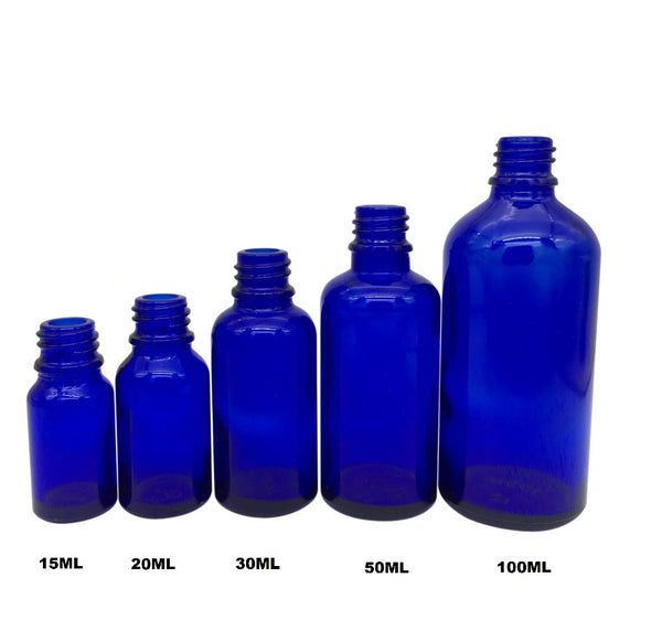 Blue Spray Bottles