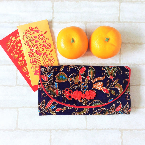 FLAP Ang Bao Organizer |  Pouch for Red Packets | Flap Organiser 50 Red Packets | Flap SIA Design 20B03