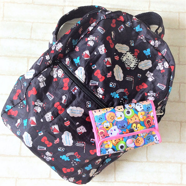READY STOCK: SURGICAL MASK POUCH | 2 in 1 Surgical Mask Wallet cum Tissue Pouch | Design 2B02