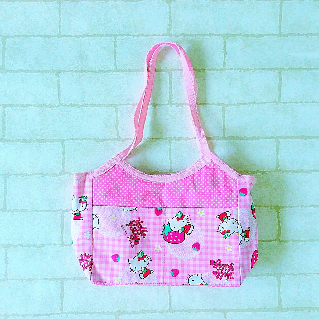 Mini Tote Bag | Hello Kitty Design 01 - MomLuvDIY.SG - 1