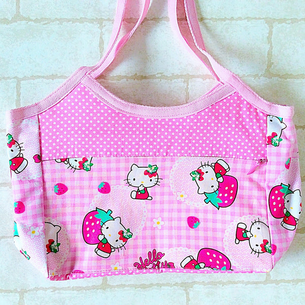 Mini Tote Bag | Hello Kitty Design 01 - MomLuvDIY.SG - 3