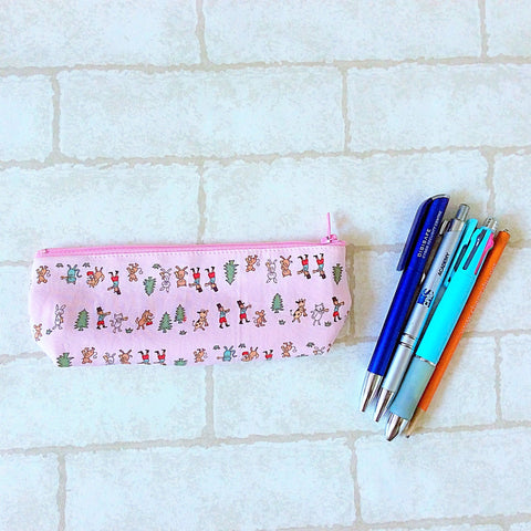 Pencil Pouch | Pink Soldier Design - MomLuvDIY.SG - 1