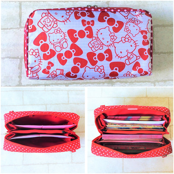 WATERPROOF SPACIOUS Hong Bao Organizer | Ang Pao Wallet | Spacious Organizer 100 Red Packets | Spacious HK Design 17B11