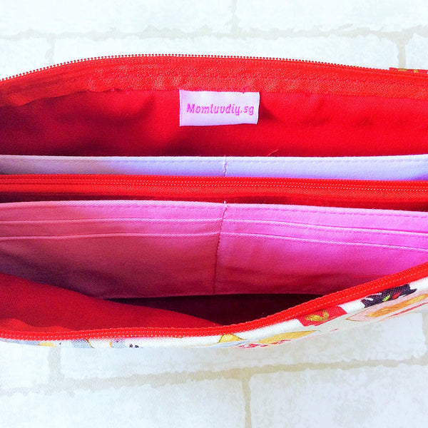 SLIM Red Packet Organizer | Ang Pow Organiser | Slim Organiser 70 Red Packets | Slim CNY Design 21B03