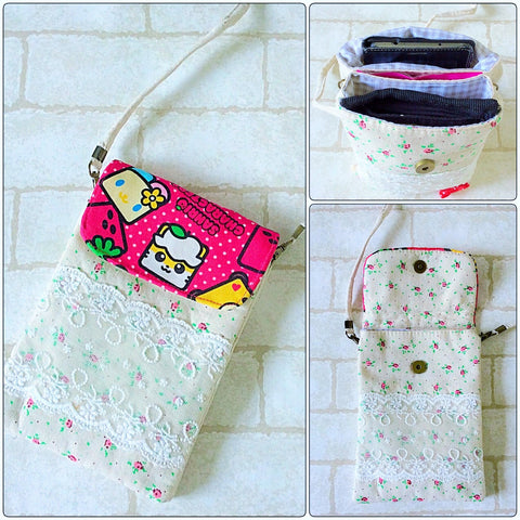 Daily Shoulder Sling Pouch for Girls | Sanrio Design