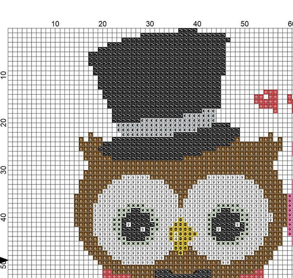 Wedding Owl Cross Stitch Pattern 01 - MomLuvDIY.SG - 3