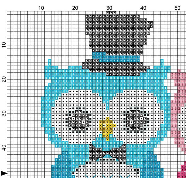 Wedding Owl Cross Stitch Pattern 03 - MomLuvDIY.SG - 3