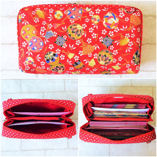 SPACIOUS Hong Bao Organizer | Ang Pao Wallet | Spacious Organizer 100 Red Packets | CNY Design 11B08