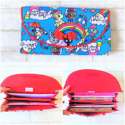 FLAP Ang Bao Organizer |  Pouch for Red Packets | Flap Organiser 50 Red Packets | Flap TKDK Design 17B15