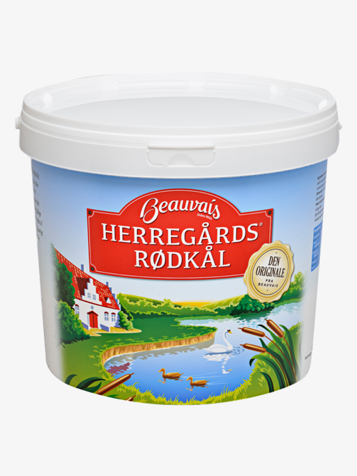 Beauvais Herregårds Red Cabbage 5 kg