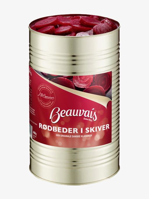 Beauvais Sliced Beetroot 4400g
