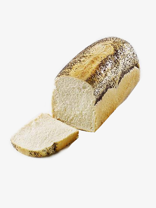 French bread with blue birch