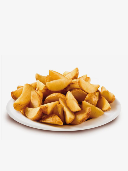 Peeled potato wedges 2500g