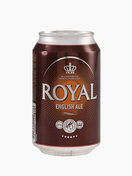 Royal English Ale 33ml x 24 Cans