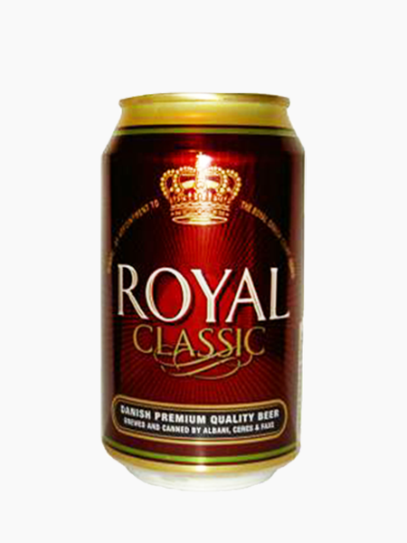Royal Classic 33ml x 24 Cans