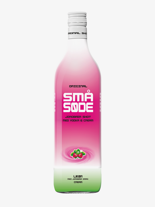 Small Sweet Strawberry - 100cl x 6