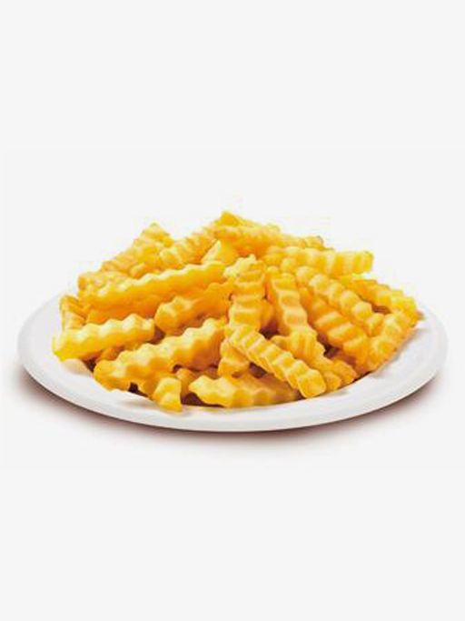 Wavy Fries 12mm 5x2500g - Fast Fry