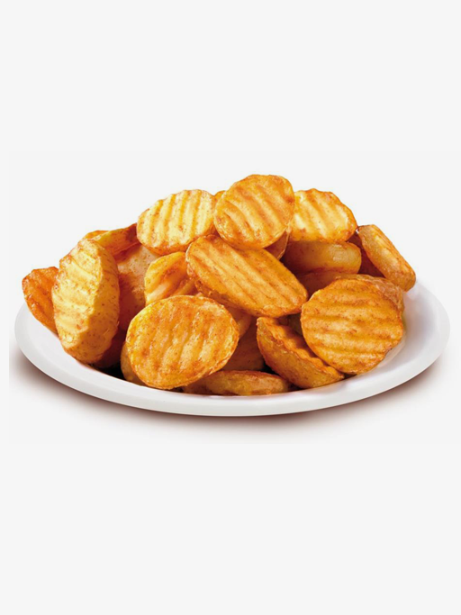 Spicy Wavy Potato Slices
