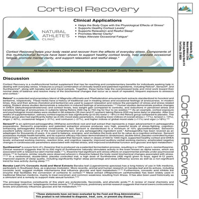 Cortisol Recovery