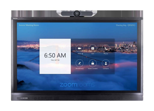 "Avocor 65"" Premium Display for Zoom Room Touch with MeetUp"
