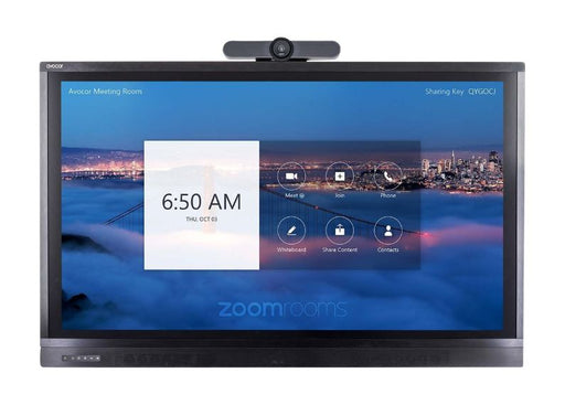 "Avocor 75"" Display for Zoom Room Touch with MeetUp"